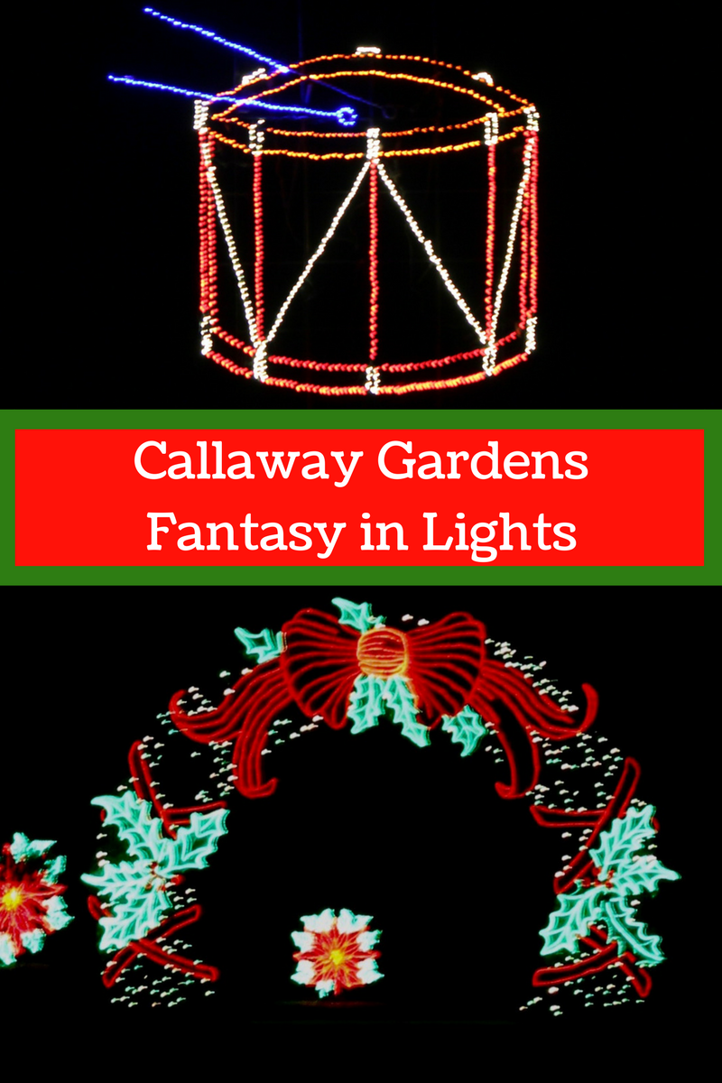 Callaway Gardens Christmas Lights.Callaway Gardens Fantasy In Lights Updated For 2017