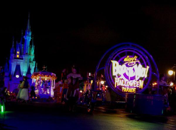 Boo to You Parade Mickey's Not So Scary Halloween