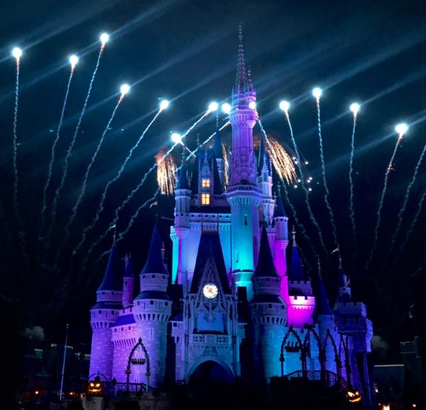 Happy Hallowishes Fireworks Mickey's Not So Scary Halloween