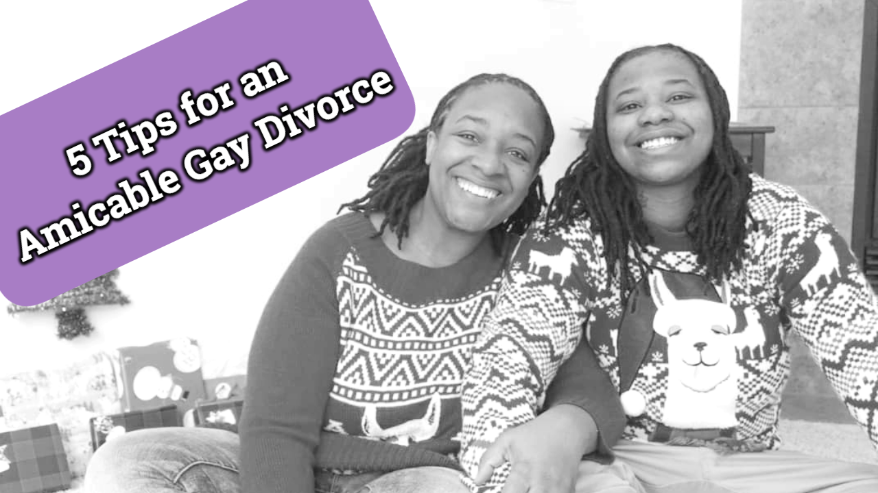 5 Tips for an Amicable Gay Divorce